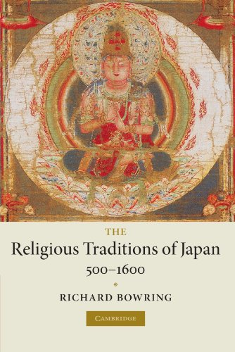 9780521720274: The Religious Traditions of Japan 500-1600 Paperback (New Approaches to European His)