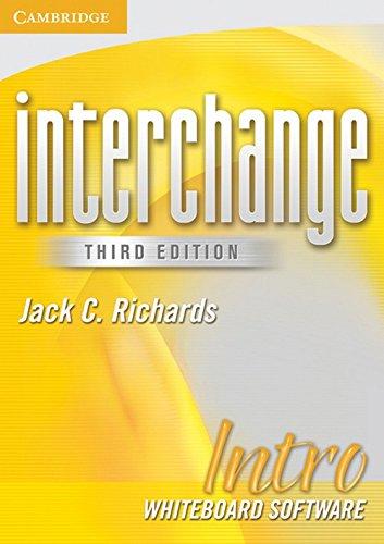 9780521720304: Interchange Intro Whiteboard Software (Interchange Third Edition)