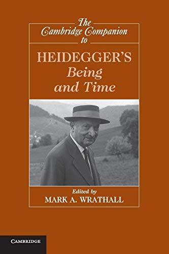 9780521720564: The Cambridge Companion to Heidegger's Being and Time (Cambridge Companions to Philosophy)