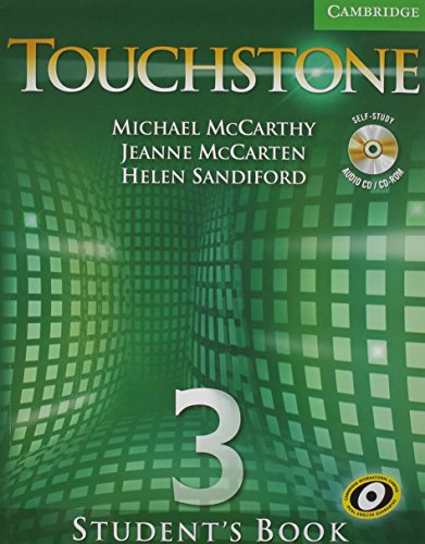 9780521720755: Touchstone Value Pack Level 3 Student's Book with CD/CD-ROM, Workbook
