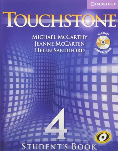 9780521720762: Touchstone Value Pack Level 4 Student's Book with CD/CD-ROM, Workbook