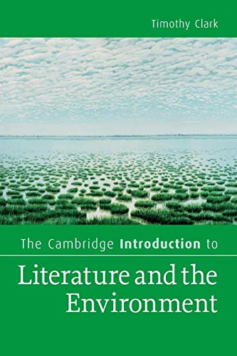 9780521720908: The Cambridge Introduction to Literature and the Environment (Cambridge Introductions to Literature)