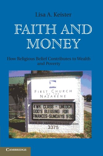 9780521721103: Faith and Money: How Religion Contributes to Wealth and Poverty