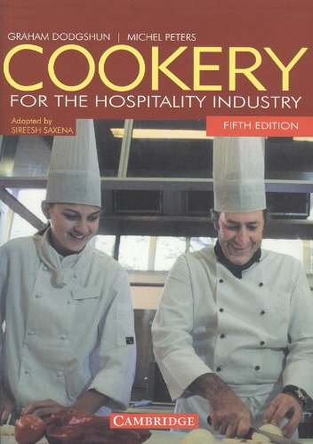 9780521721400: Cookery for the Hospitality Industry