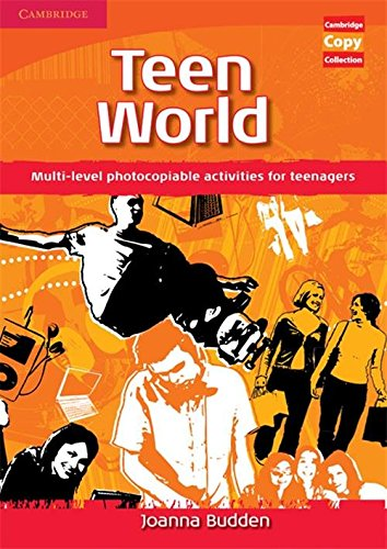 9780521721554: Teen World: Multi-Level photocopiable activities for teenagers