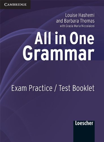 9780521721974: All in one. Grammar. Exam practice-Test book. Per le Scuole superiori