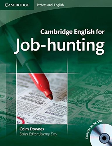 9780521722155: Cambridge English for Job-hunting Student's Book with Audio CDs (2)