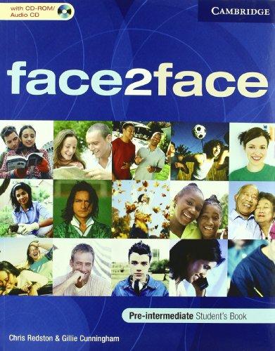 9780521722186: Face2face. Pre-intermediate. Student's book-Workbook-Introduction booklet. Con espansione online. Per le Scuole superiori. Con CD-ROM