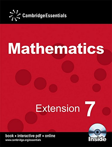 9780521722209: Cambridge Essentials Mathematics Extension 7 Pupil's Book with CD-ROM: No. 7
