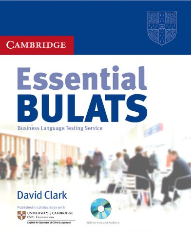 9780521723497: Essential Bulats : business language testing service