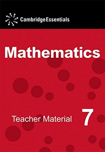 9780521723763: Cambridge Essentials Mathematics Year 7 Teacher Material CD-ROM