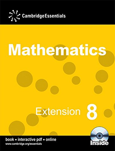 9780521723817: Cambridge Essentials Mathematics, Extension 8
