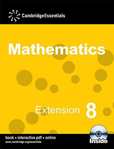 9780521723817: Cambridge Essentials Mathematics Extension 8 Pupil's Book with CD-ROM