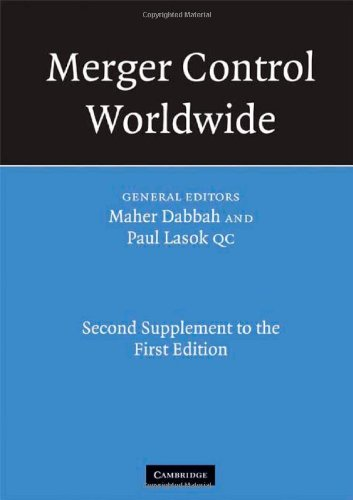 9780521724135: Merger Control Worldwide: Second Supplement to the First Edition