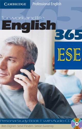 9780521725644: English365 Level 1 Personal Study Book with Audio CD ESE Malta Edition (Cambridge Professional English)