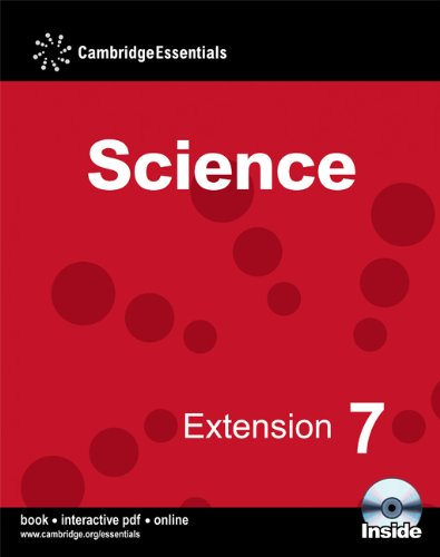9780521725682: Cambridge Essentials Science Extension 7 Camb Ess Science Ext 7 w CD-ROM: No. 7