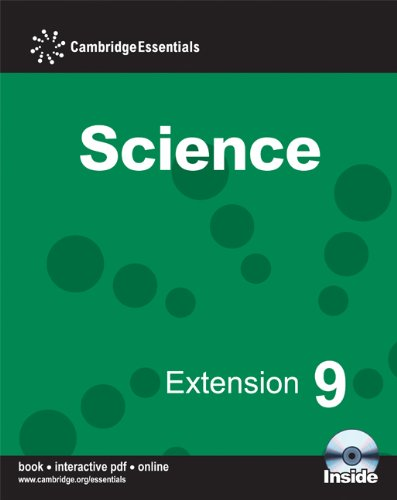 9780521725729: Cambridge Essentials Science Extension 9 Camb Ess Science Extension 9 w CDR