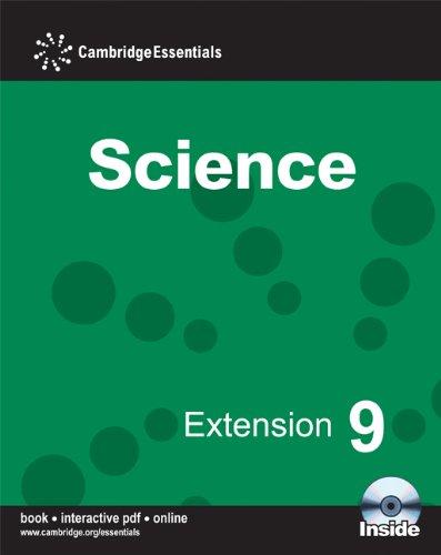 Cambridge Essentials Science Extension 9 Camb Ess: Ellis, Sam,Martin, Jean