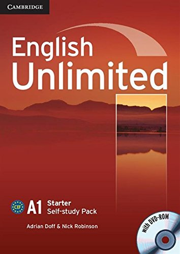 9780521726344: English Unlimited Starter Self-study Pack (Workbook with DVD-ROM)