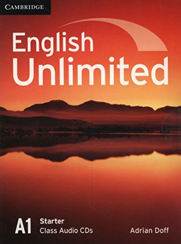 9780521726368: English Unlimited Starter Class Audio CDs (2)
