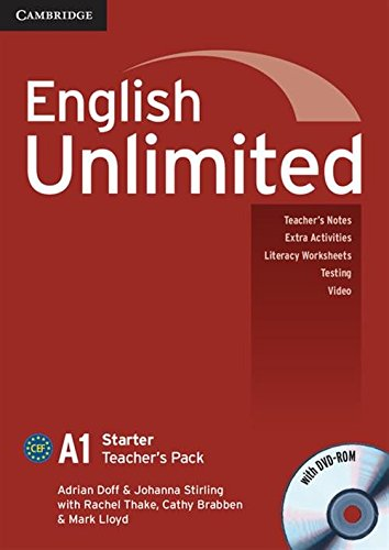 9780521726382: English Unlimited Starter Teacher's Pack (Teacher's Book with DVD-ROM)
