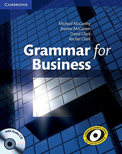 9780521727204: Grammar for Business with Audio CD