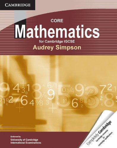 Core Mathematics for Cambridge IGCSE: Audrey Simpson