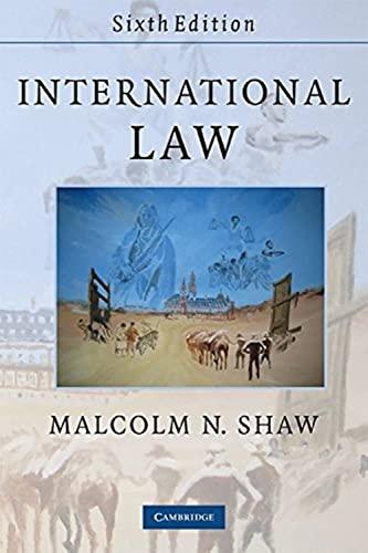 9780521728140: International Law