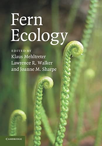 9780521728201: Fern Ecology (Volume 474)