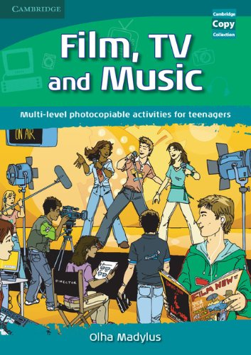 9780521728386: Film, TV, and Music: Multi-level Photocopiable Activities for Teenagers (Cambridge Copy Collection)