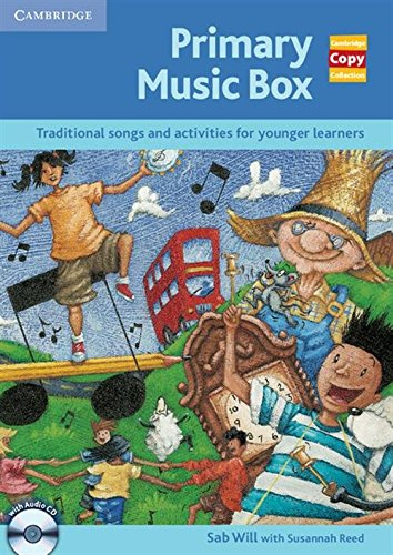 9780521728560: Primary Music Box with Audio CD (Cambridge Copy Collection)