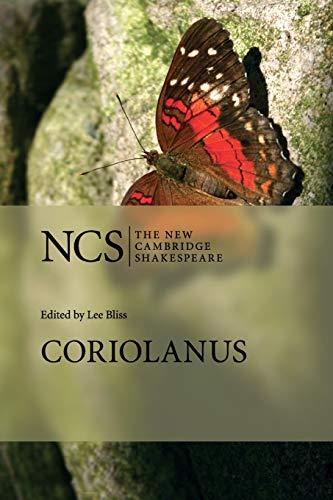 9780521728744: Coriolanus (The New Cambridge Shakespeare)