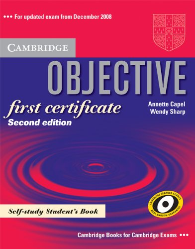 9780521728829: Objective first certificate. Student's book-Objective writing. Per le Scuole superiori