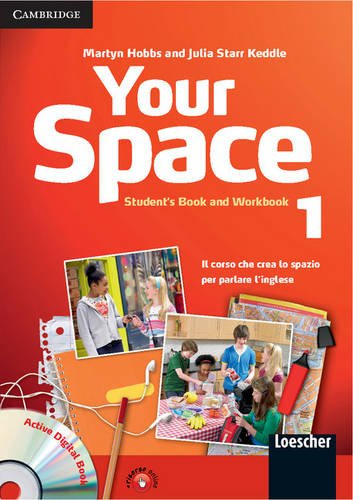 9780521729048: Your Space Level 1 Student's Book and Workbook with Audio CD, Companion Book with Audio CD, Active Digital Book Ital Ed