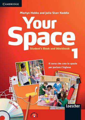 9780521729055: Your space. Student's book-Workbook. Per la Scuola media. Con CD Audio. Con espansione online: 1