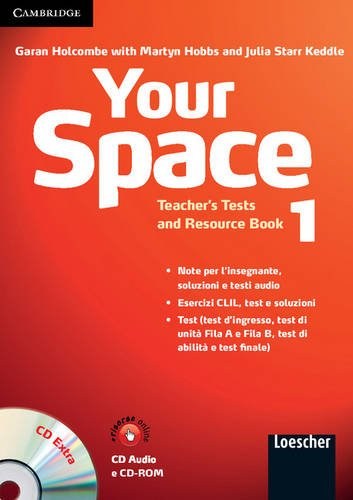 9780521729062: Your Space Level 1 Teacher's Tests and Resource Book with Audio CD/CD-ROM Italian Edition