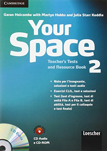 9780521729116: Your Space Level 2 Teacher's Tests and Resource Book with Audio CD/CD-ROM Italian Edition