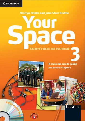 9780521729147: Your Space Level 3 Student's Book and Workbook with Audio CD, Companion Book with Audio CD, Active Digital Book Ital Ed