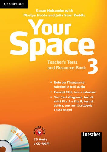 9780521729161: Your Space Level 3 Teacher's Tests and Resource Book with Audio CD/CD-ROM Italian Edition