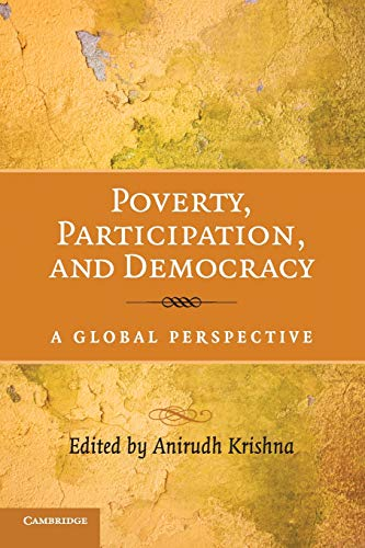 9780521729604: Poverty, Participation, and Democracy: A Global Perspective