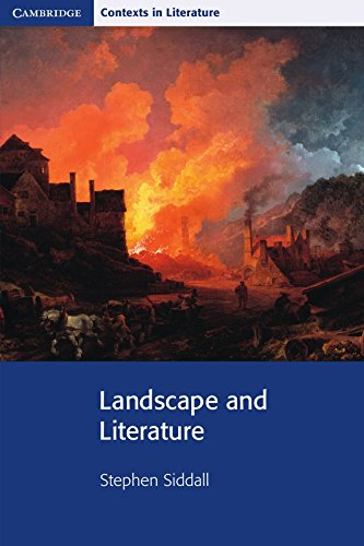 9780521729826: Landscape and Literature (Cambridge Contexts in Literature)