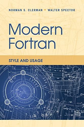 9780521730525: Modern Fortran Paperback