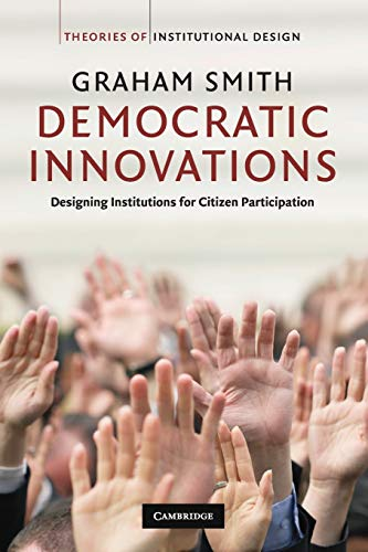 9780521730709: Democratic Innovations Paperback (Theories of Institutional Design)