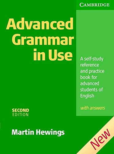 9780521731454: Advanced Grammar in Use with Answers, 2nd Edition (South Asian Edition)