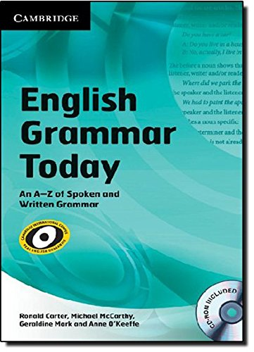 9780521731751: English Grammar Today with CD-ROM: An A-Z of Spoken and Written Grammar