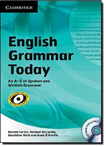 English Grammar Today with CD-ROM: An A-Z of Spoken and Written Grammar (Book & CD Rom): Ronald...