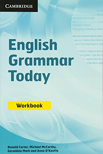 9780521731768: English Grammar Today Workbook