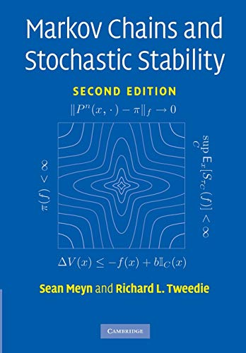 9780521731829: Markov Chains and Stochastic Stability (Cambridge Mathematical Library)