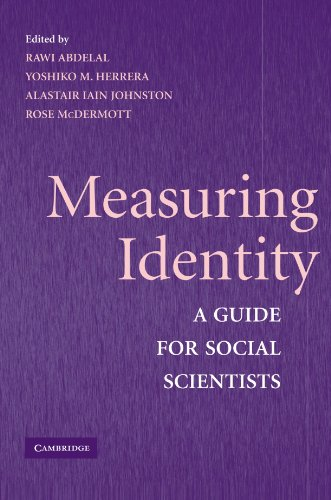 9780521732093: Measuring Identity: A Guide for Social Scientists