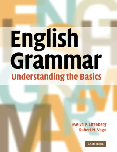 9780521732161: English Grammar: Understanding the Basics